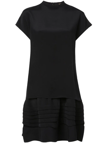 ADAM LIPPES - Short Sleeve Flared Dress