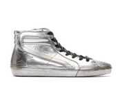 Silver Slide Hi Top