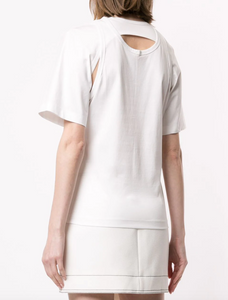 DION LEE - Layered Back T-Shirt