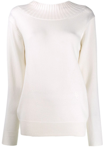 CHLOÉ - Open Back Cashmere Knit