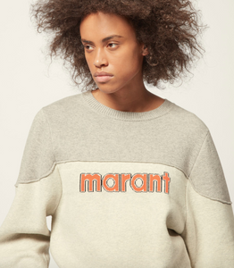 ISABEL MARANT ÉTOILE - Kedy Sporty Graphic Pullover