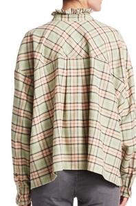 ISABEL MARANT ÉTOILE - Ilaria Plaid Slouch Top