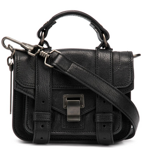 PROENZA SCHOULER - PS1 Micro Leather - Black