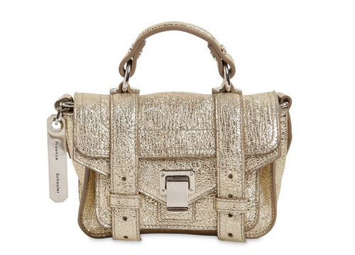 PROENZA SCHOULER - PS1 Micro Metallic - Light Gold