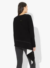 PROENZA SCHOULER - Asymmetrical Draped Long Sleeve Top