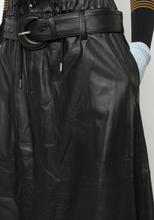 PROENZA SCHOULER - Belted Leather Skirt