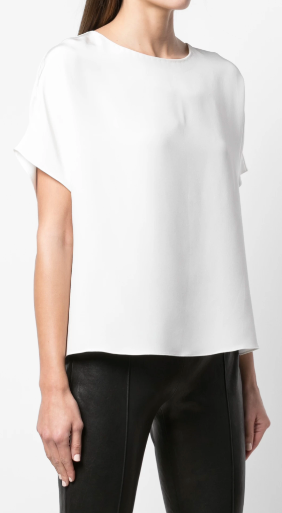 ADAM LIPPES - Short Sleeve Dolman Top