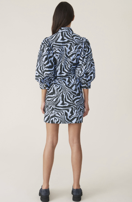 Printed Cotton Shirtdress