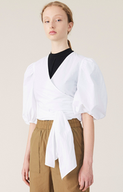 Plain Cotton Poplin Shirt