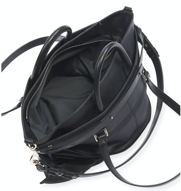 PS19 Large Leather Black