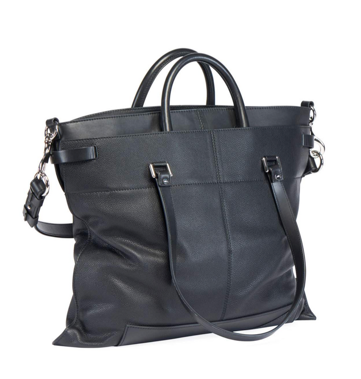 PROENZA SCHOULER - PS19 Large Leather Black
