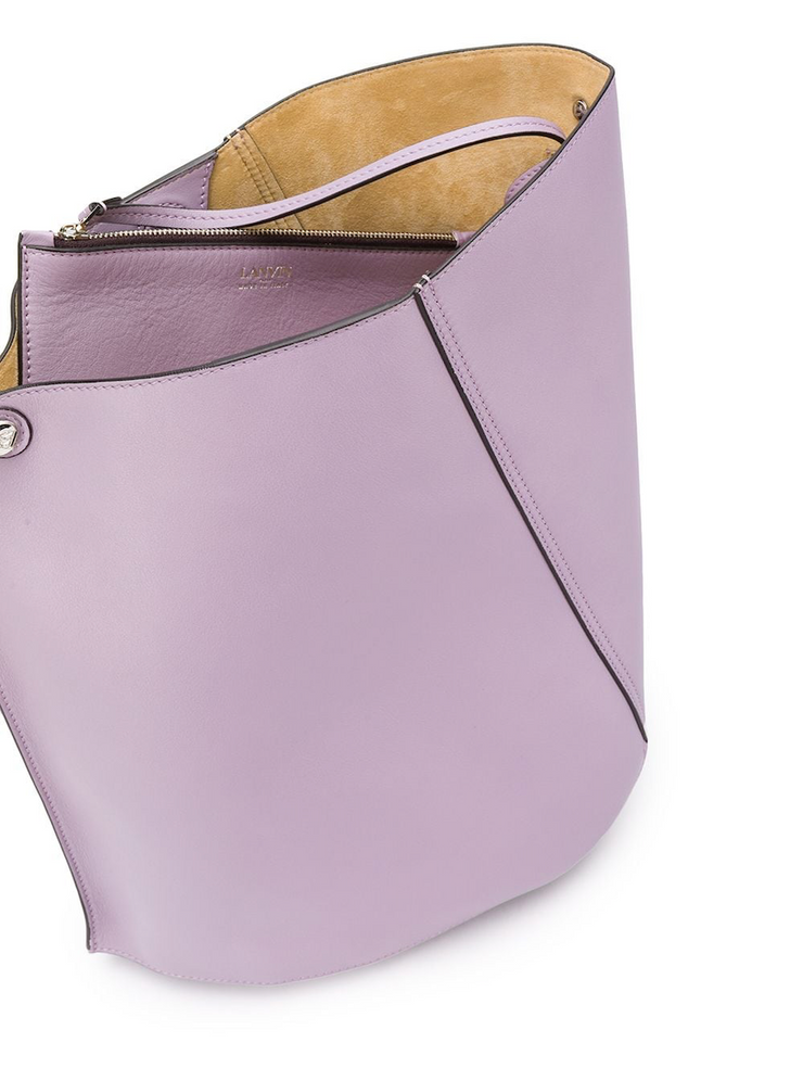 LANVIN - Lilac Hook Bag