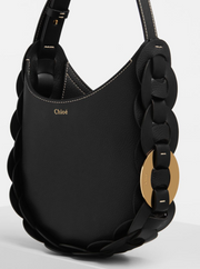 Daryl Small Hobo Bag Black
