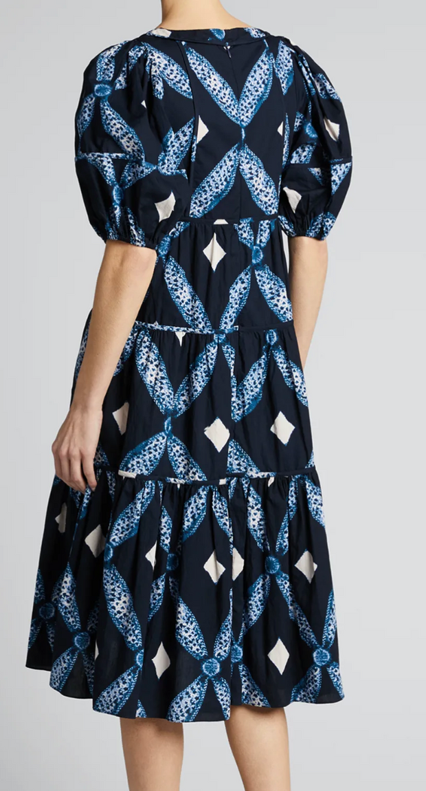 Nora Indigo Dress