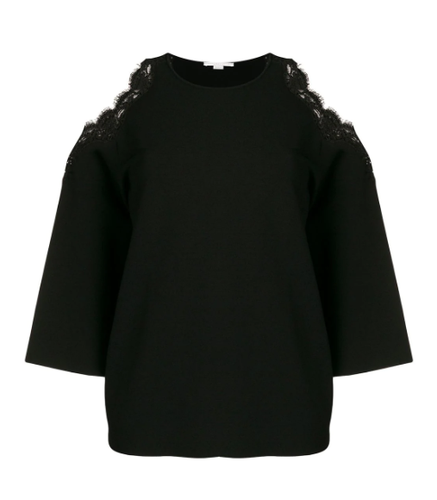 STELLA MCCARTNEY - Cold Shoulder Knitted Top