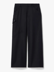 Cotton Culotte Utility Pocket