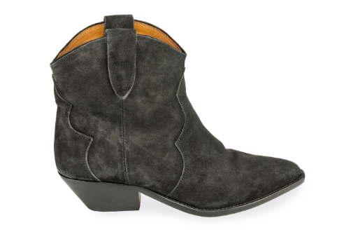 ISABEL MARANT - Dewina Suede Western Ankle Booties