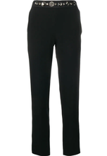 LANVIN - Crystal-Embellished Slim-Fit Trousers