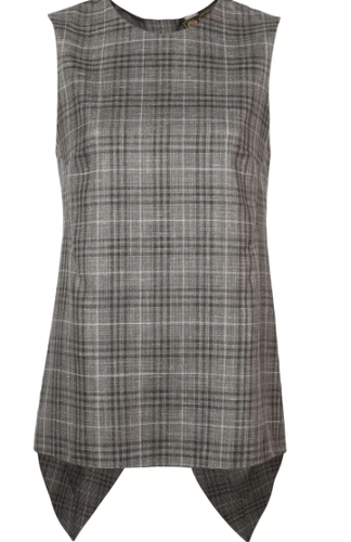ADAM LIPPES - Plaid Sleeveless Top