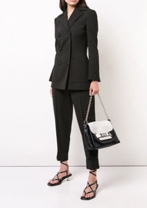 PROENZA SCHOULER - PS 11 Black and White Soft Classic
