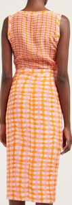 ALTUZARRA -  Eleonora Gingham-Print Silk Midi Dress