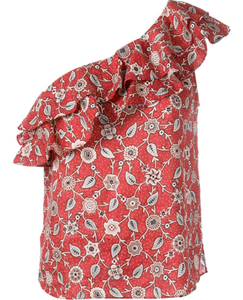 ISABEL MARANT ETOILE - One Shoulder Floral Top
