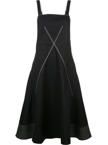PROENZA SCHOULER - Contrast Topstitch Dress