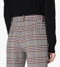 DEREK LAM 10 CROSBY - Plaid Straight Leg Trouser
