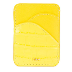 CHLOE - Walden Card Wallet Joyful Yellow