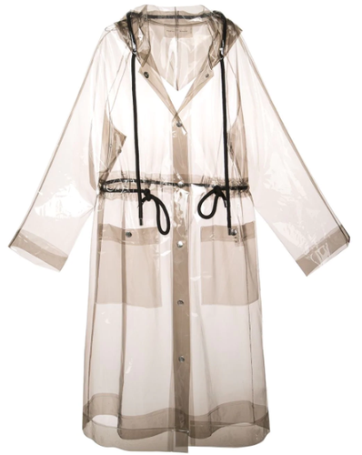 PROENZA SCHOULER - PSWL Transparent Raincoat