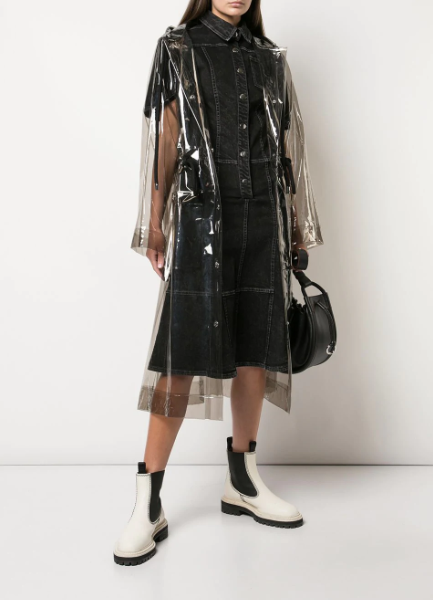 PSWL Transparent Raincoat