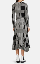 PROENZA SCHOULER - Geometric-Colorblocked Mixed-Knit Sweaterdress