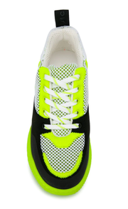 Neon Lace-up Sneaker