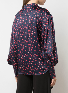 CHLOE - Printed Buttoned Blouse