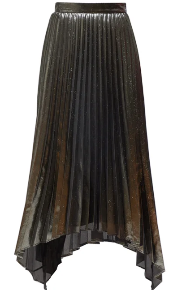 Freya Pleated Midi Skirt