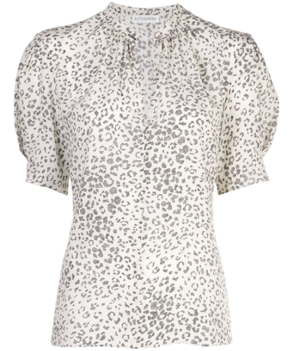ALTUZARRA - Maya Animal Print Blouse