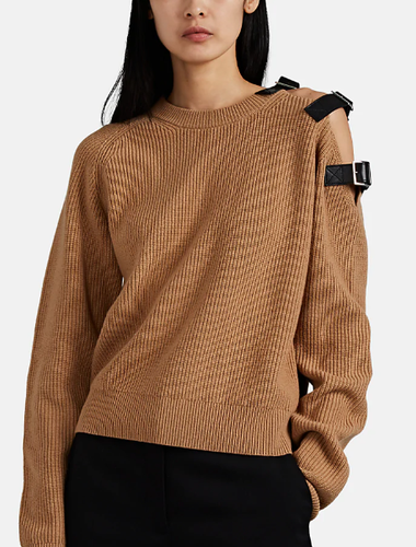 ALTUZARRA - Ness Belt-Detailed Sweater