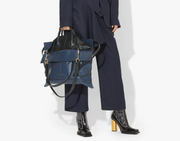 PS19 Elaphe Large Navy and Black  Bag