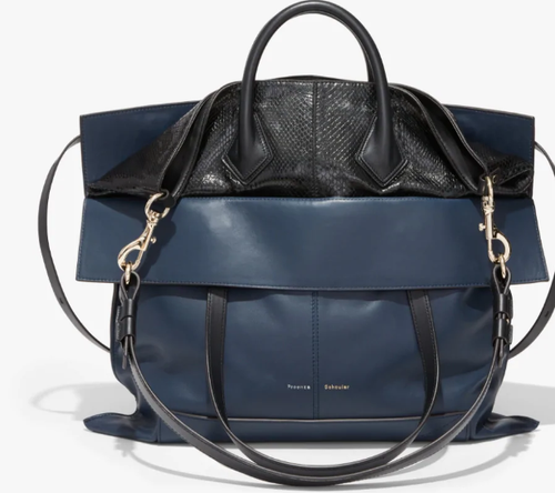 PROENZA SCHOULER - Elaphe PS19 Large Navy and Black  Bag