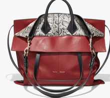 PROENZA SCHOULER - PS19 Large Dahlia/Black/Optic White