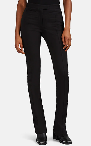 PROENZA SCHOULER - Cotton Gabardine Zip-Detailed Skinny Pants