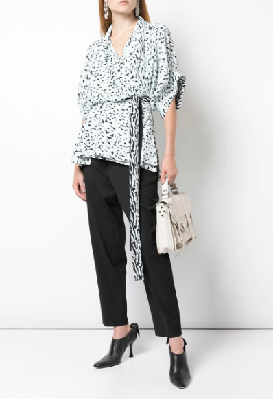 SS Printed Wrap Top