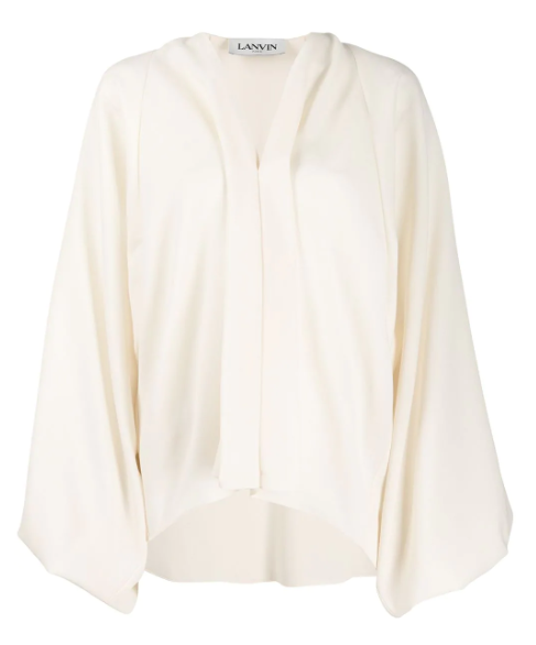 LANVIN - Balloon Sleeve Blouse