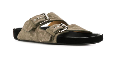 ISABEL MARANT - Double Buckle Sandals