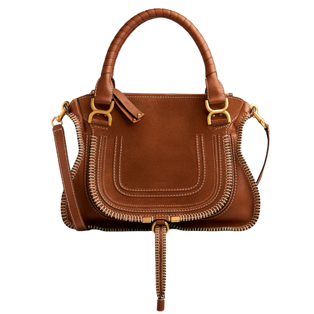 Marcie Handbag with Stitching