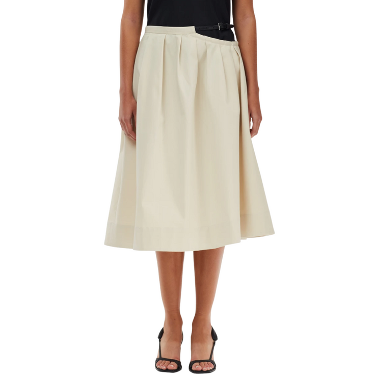 Organic Cotton Cutout Skirt
