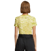Green/Yellow Tie Dye T-Shirt