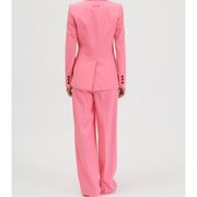 Hot Pink Wide Leg Trouser