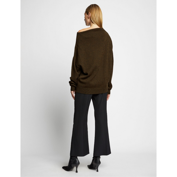 Midweight Merino Off the Shoulder