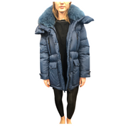Fur Collar Puffer Coat